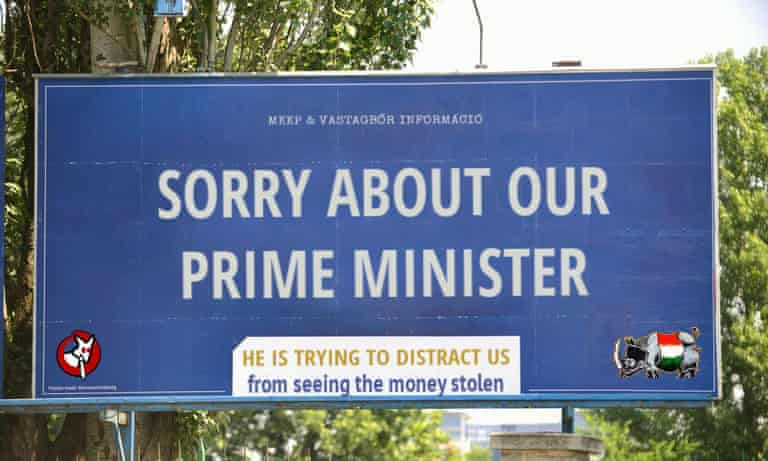 """Sorry about our Prime Minister"""